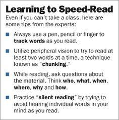 Speed Reading Techniques Pdf